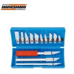 Mannesman Maket Bıçağı Seti 16 Parça