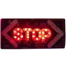 Parlak Işıklı Stop Led Uyarı Cihazı 12v