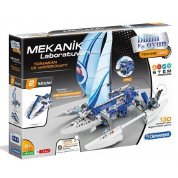 Clementoni Mekanik Laboratuvarı Trimaran ve Watercraft 64439