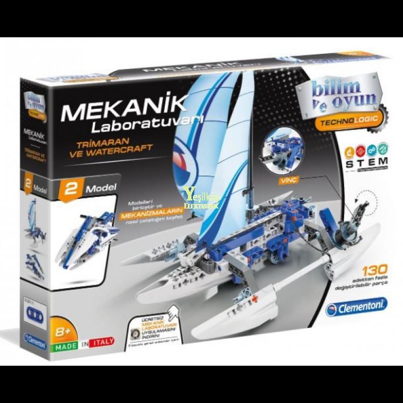 Clementoni Mekanik Laboratuvarı Trimaran ve Watercraft 64439