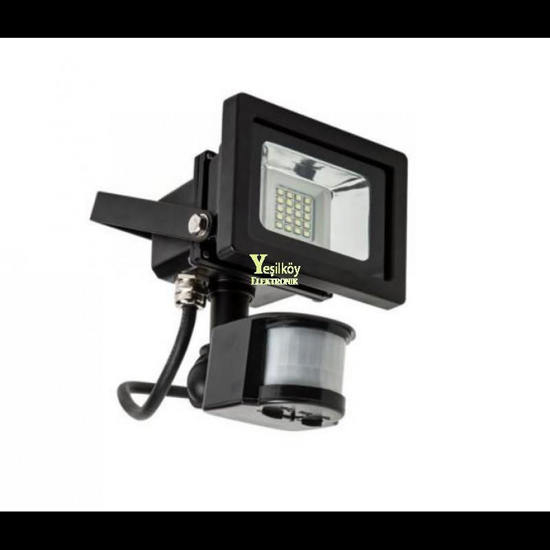 Cata 10w Smd Sensörlü Led Projektör ct-4620 Beyaz