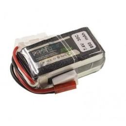 7.4V Lipo Batarya 850mAh 25C 2s