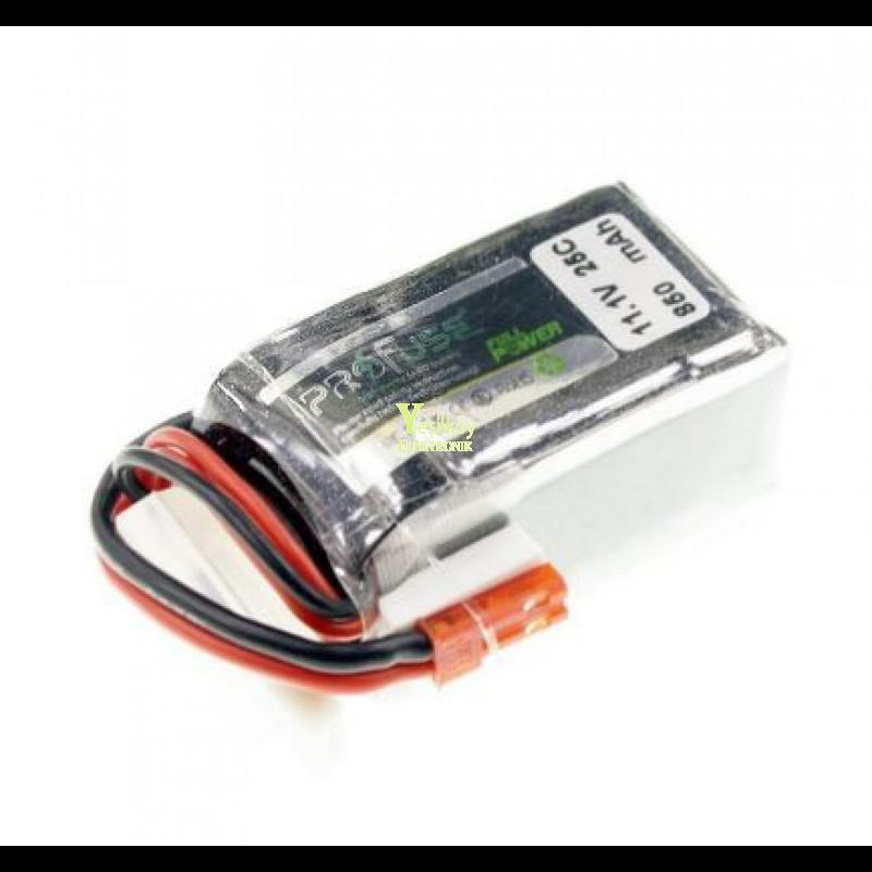 11.1V Lipo Batarya 850mAh 25C 3s Lipo Pil