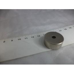 D25xD5x10mm Delikli Neodyum Mıknatıs Yuvarlak