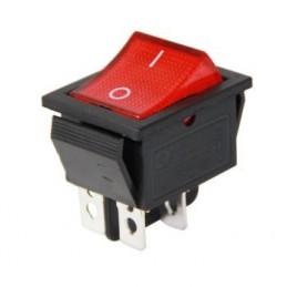 Geniş Işıklı Anahtar On-Off 4p