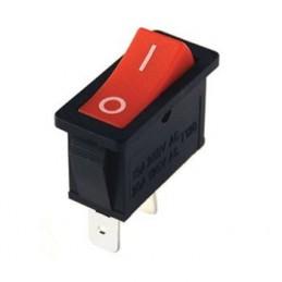 Tekli Dar Işıksız Anahtar On-Off 2p