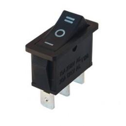 Tekli Dar Işıksız Anahtar On-Off-On 3p