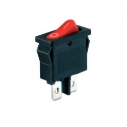 Mini S Tekli Dar Işıksız Anahtar On-Off 2p