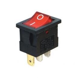 Mini Işıklı Anahtar On-Off 3p