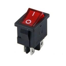 Mini Işıklı Anahtar On-Off 4p
