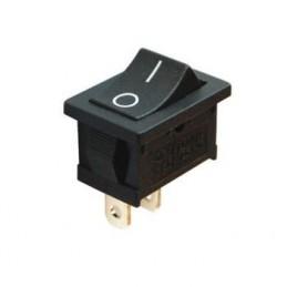 Mini Işıksız Anahtar On-Off 2p Siyah