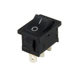Mini Işıksız Anahtar On-On 3p