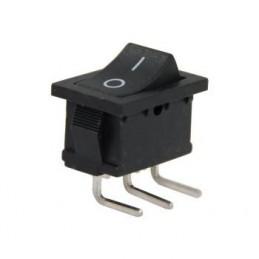 Mini Işıksız Anahtar On-Off 3p 90 Derece Pcb Ayak