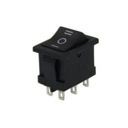 Mini Işıksız Anahtar On-Off-On 6p