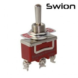 Toggle Switch Büyük Boy On-Off-On 3p Vidalı Swion 15a