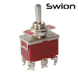 Toggle Switch Büyük Boy On-Off-On 6p Vidalı Swıon 15a