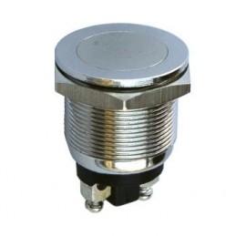 Swion Metal 19mm Işıksız Metal Buton 2p Ledsiz