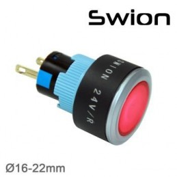 10-24v 22mm Sinyal Lambası Sarı Plastik