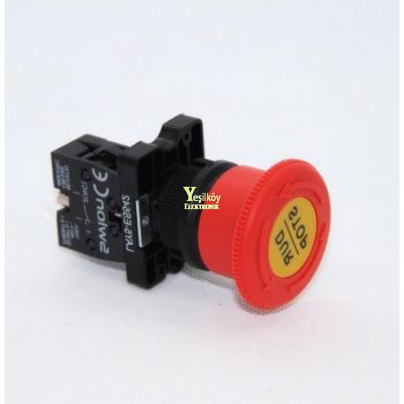 Lay5-Es542 22mm Acil-Stop Bas-Çevir 40mm