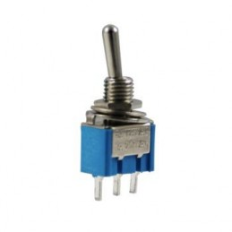 Toggle Switch On-Off 3p iğne Ayak Pcb 180
