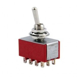 Toggle Switch On-Off-On 12p MTS-403