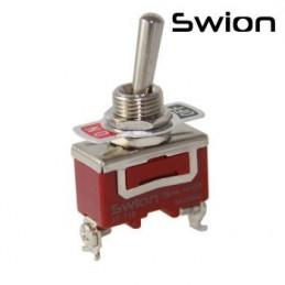 Toggle Switch Büyük Boy On-Off 2p Vidalı Swıon 15a