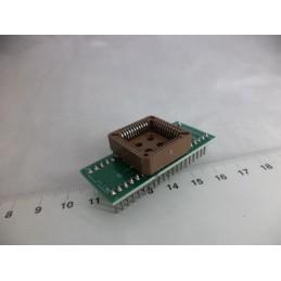 PLCC44 to DIP40 Çevirici Adaptör