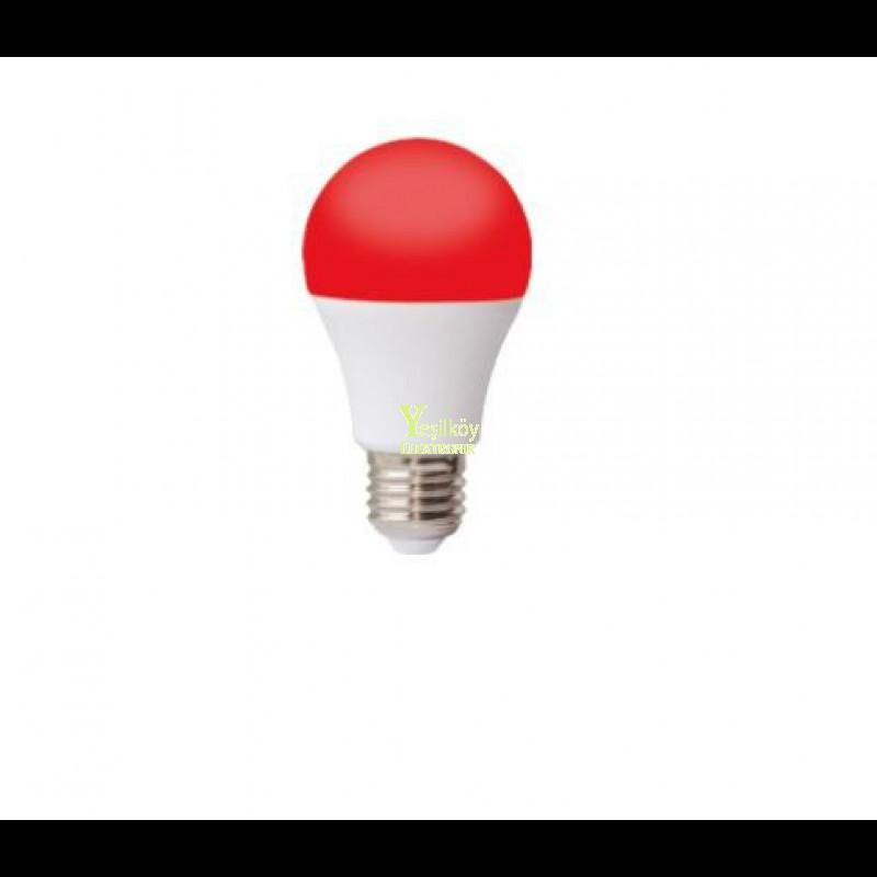 9watt Kırmızı Led Ampül Sirkadiyen Kırmızı Işık